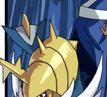 Katara and Samurott - Pokemon and Waterbender Sticker