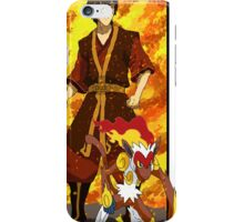 Zuko and Infernape - Pokemon and Firebender iPhone Case/Skin