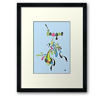 Growing Pain Framed Print