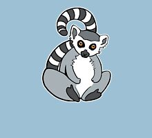 Sitting Ring-Tailed Lemur Unisex T-Shirt