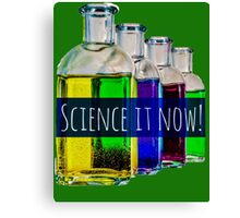 Science it now Canvas Print