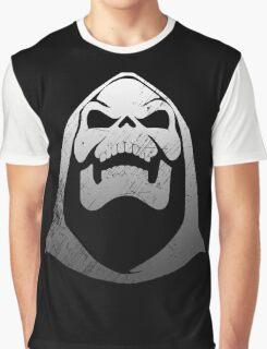 Silver Skeletor Graphic T-Shirt