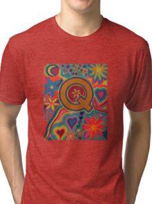 Initial Q Tri-blend T-Shirt