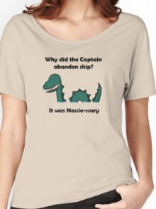 It was Nessie-ssary Women's Relaxed Fit T-Shirt