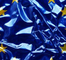 European flag illustraton Sticker