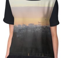 Domes against the morning sky Chiffon Top