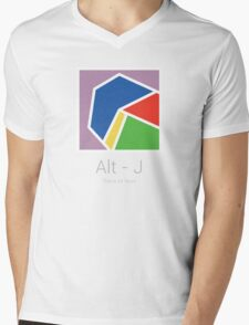 Alt - J Minimal Album Cover Mens V-Neck T-Shirt
