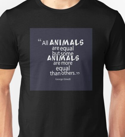 Animal Farm - Orwell Unisex T-Shirt