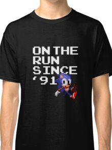 On the Run Since '91 Classic T-Shirt