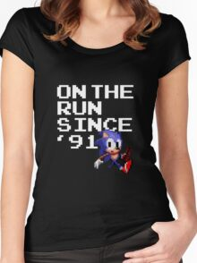 On the Run Since '91 Women's Fitted Scoop T-Shirt