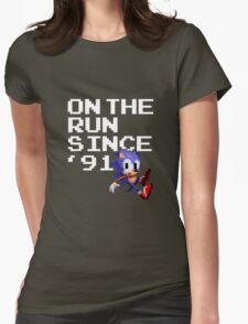On the Run Since '91 Womens Fitted T-Shirt