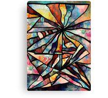 The Sixty Six. Modern Abstract Art. Canvas Print