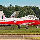 BAC Jet Provost T.5 XW324/U G-BWSG landing by Colin Smedley