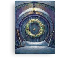 Hobbit's Christmas Canvas Print