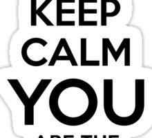 SL Keep Calm Y Sticker