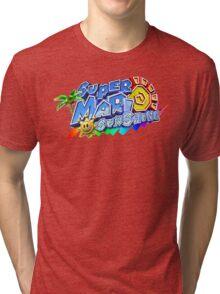 Super Mario Sunshine Tri-blend T-Shirt