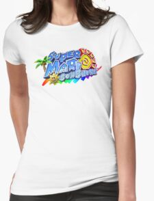 Super Mario Sunshine Womens Fitted T-Shirt