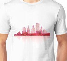 Red urban silhouette Unisex T-Shirt