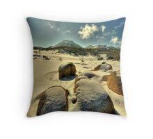 Winter, Mount Buffalo Plateau Throw Pillow