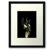 Zombie Uncreated Framed Print