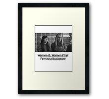 Portlandia Bookstore Framed Print