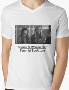 Portlandia Bookstore Mens V-Neck T-Shirt