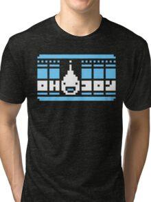 Oh 6 Joy - Big Happy Pixels Tri-blend T-Shirt