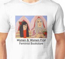 Women & Women First Feminist Bookstore Portlandia  Unisex T-Shirt
