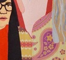 Women & Women First Feminist Bookstore Portlandia  Sticker