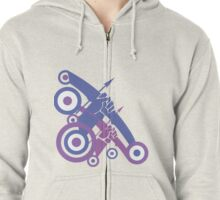 Take Aim Zipped Hoodie