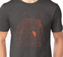 El Capitan Yosemite polygon grid  Unisex T-Shirt