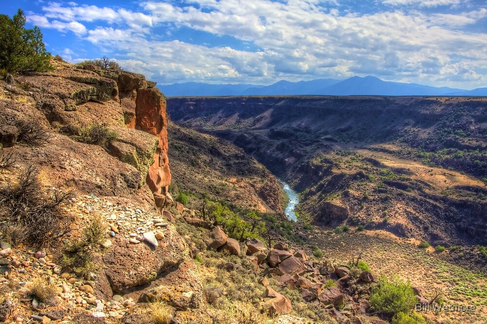 P'Osoge - The Beauty of the Rio Grande Del Norte National Monument by Bill Wetmore