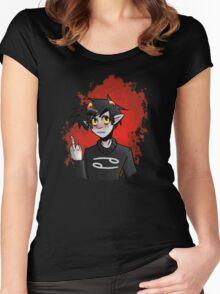 Karkat Vantas Women's Fitted Scoop T-Shirt