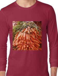 Carrots at the Market Long Sleeve T-Shirt
