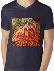 Carrots at the Market Mens V-Neck T-Shirt