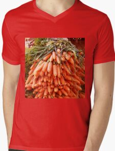 Carrots at the Market Mens V-Neck T-Shirt