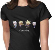 Conspiring Little Guys Womens Fitted T-Shirt