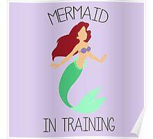 Mermaid in training Poster