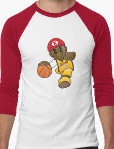 Mario Kobe Men's Baseball ¾ T-Shirt