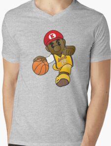 Mario Kobe Mens V-Neck T-Shirt