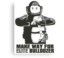 Elite Bulldozer Canvas Print