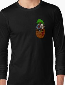HipsterZombieBeardguy Long Sleeve T-Shirt