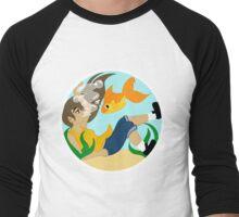 Girl in the Fishbowl Men's Baseball ¾ T-Shirt