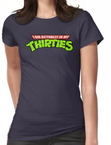 Teenage Mutant Ninja Thirties Womens Fitted T-Shirt
