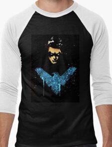 Night Wing Men's Baseball ¾ T-Shirt