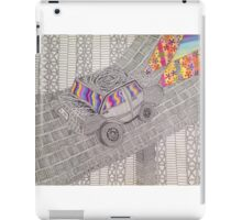 Psychedelic Car - Graphic art - Nicole Sterling iPad Case/Skin