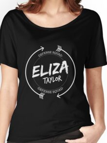 ELIZA TAYLOR DEFENSE SQUAD Women's Relaxed Fit T-Shirt