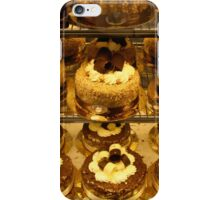 Italian cakes iPhone Case/Skin