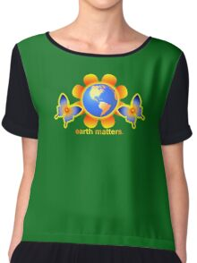 Earth Matters  Chiffon Top