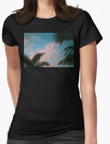 GEO PALM Womens Fitted T-Shirt